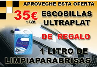 ESCOBILLAS ULTRAPLAT 35€